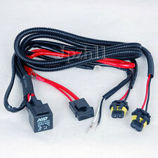 Car HID Xenon Light H8/H9/H11 Bulbs Relay Fuse Cable Wire Harness 35W/55W JUK