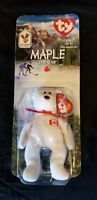 McDonald's TY Beanie Baby Maple the Bear 1993 (Error)
