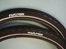 """Pair 16 x 1 3/8"""" (37-349) Nutrak Puncture Breaker Tyres Brompton Moulton"""