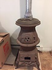 Antique potbelly Wood stove