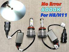 FOG LIGHT 40W X2 CREE HIGH POWER LED H11 H8 bulb 6000K White FOR VW AUDI PORSCHE