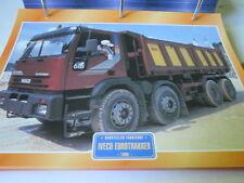Super Trucks Baustellen LKW Italien Iveco Eurotrakker 1996