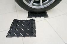 Milenco Black Wheel Tyre Saver For Caravan Motorhome Horsebox Tyre Stops Pair