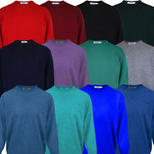 ProQuip Water Repellent Mens Crew-Neck Golf Lambswool Sweater Jumper