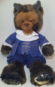 """Build A Bear Beauty And The Beast With Ballroom Outfit + Sound 18"""" Disney Plush"""