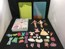Ballerinas Magnetic Figurine Playset with 40 Magnets and 4 Scenes Mudpuppy