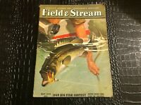 MAY 1949 FIELD AND STREAM fishing and hunting magazine PAINTED cover
