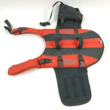 OUTWARD HOUND pup saver RipStop Dog Life Jacket Vest for Flotation M Handles