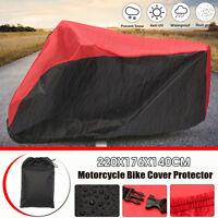 Motorcycle Motocross Bike Cover Waterproof Outdoor Rain Snow UV Dust
