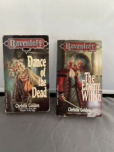 Ravenloft TSR Dance of the Dead & The Enemy Within AD&D book lot 2