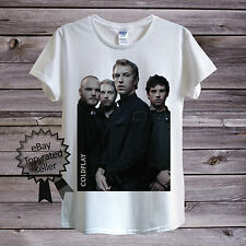 Coldplay T-Shirt Men OR Women's Fitted Chris Martin British Rock Top Clothing UK