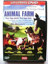 Dvd Animal Farm - versione inglese di John Stephenson 1999 Usato vedi foto