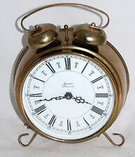 Sessions Model 33475 Brass Alarm Wall Clock