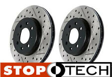 BMW E36 M3 Stoptech Slotted & Drilled Rotors (Slotted & Drilled Rear Pair)