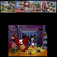 St Vincent Grenadines 835-9 MNH Disney, Famous Chicagoans, Cow