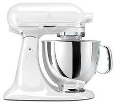 Kitchenaid Stand Mixer Tilt ksm150psww Artisan rk150ww white on White