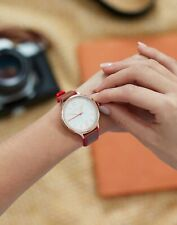Joules Women Darbridge   Darbridge  Womens Leather And Silicone Strap Watch -