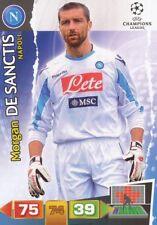 MORGAN DE SANCTIS ITALIA SSC NAPOLI CARD ADRENALYN CHAMPIONS LEAGUE 2012 PANINI