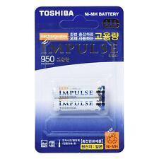 TOSHIBA IMPULSE TNH-4AH-2P Rechargeable AAA 2 PCS Made in Japan