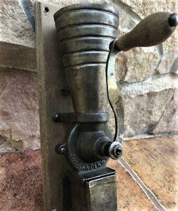 Antique coffee grinder Alexanderwerk Working Vintage Famous Brand Germany