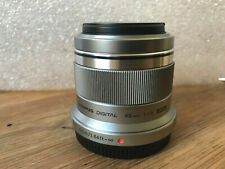 Olympus Micro 4/3 45mm f1.8 Lens, Silver (also works on DJI Inspire 1 X5 camera)