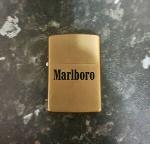 ZIPPO MARLBORO 1932-1992 BRASS LIGHTER - UNUSED
