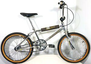 SEARS FREE SPIRIT 1980s OLD-SCHOOL BMX BIKE RETRO CHROME BICYCLE VINTAGE 1984