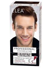 ELEA MEN Professional Colour 4.0 BROWN Hair Beard & Moustache Effect for 5 MIN