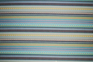 """""""Alpenglow"""" upholstery fabric by Robert Allen, turquoise, remnant 1.7m"""