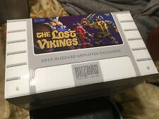 BLIZZARD EMPLOYEE 2015 Holiday Gift - THE LOST VIKINGS STATUE - Blizzcon NIB WoW