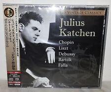 SACD JULIUS KATCHEN - CHOPIN LISZT DEBUSSY BARTOK FALLA - TBS - JAPAN TYGE-60009