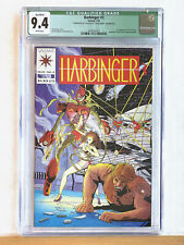HARBINGER #3 : CGC 9.4 NM : 1992 Valiant, 1st Appearance Ax & Rexo, w/o coupon
