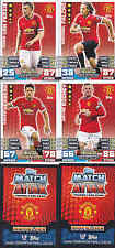MATCH ATTAX 14/15 Shaw MANCHESTER UNITED Card No.184 FREE POSTAGE