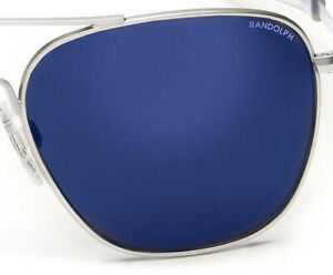 Randolph Aviator Blue Sky Flash Mirror Replacement Lenses