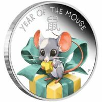 Baby Mouse 2020 1/2oz Silver Proof Coin
