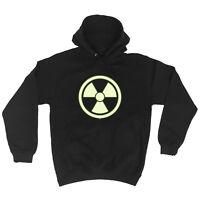Funny Novelty Hoodie Hoody hooded Top - Radioactive Glow In The Dark