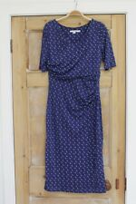 Boden Purple Wrap Dress Size 10L