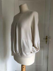 Allude Cashmere Pullover Gr. S Ecru