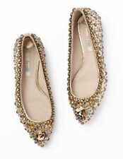 Women's 100% Leather Textured Flat Shoes