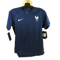Nike Womens 2019 World Cup France Home Stadium Jersey Blue AJ4394-410 S New