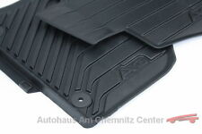 NEU Original Audi Gummi-Fußmatten A3 Limousine Sportback 8V 4-teilig vorn+hinten