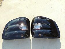 CUSTOM! 97-00 F150 FLARESIDE Smoked Tail Lights Black Tinted Non led Painted