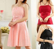 Chiffon Cocktail Ballgowns Sleeveless Dresses for Women