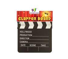 WOODEN CLAPPER BOARD MOVIE PROP DIRECTOR HOLLYWOOD FILM PARTY DECORATION