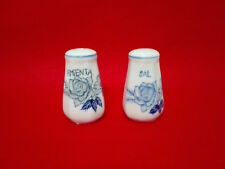 salt and pepper shaker porcelain, Style classic