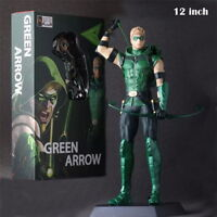 DC COMICS CRAZY TOYS THE GREEN ARROW JUSTICE LEAGUE ACTION FIGURES STATUE MODEL