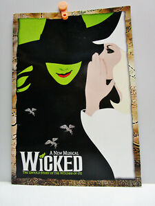 Vintage -  A New Musical  - WICKED -  STORY OF THE WITCHES OF OZ - Program 2003