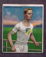 1910 T218 Mecca Cigarettes Champions Gusta Ljungstrom Runner Factory 649 VG/VGEX
