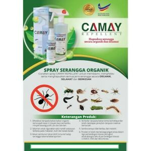 REPELLENT ORGANIC  SPRAY KILL INSECT IN HOUSE ,CAR & PETS BODY
