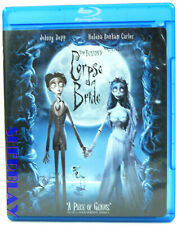 Tim Burton's Corpse Bride (Blu-ray Disc, 2006) voiced by Johnny Depp